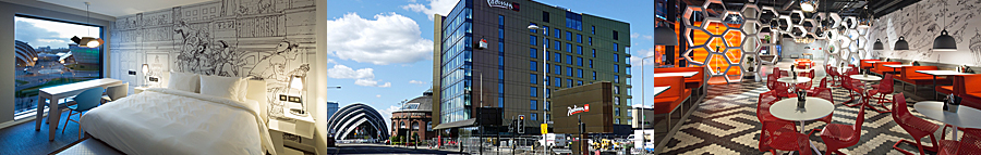UK's First Radission RED Hotel Opens In Glasgow