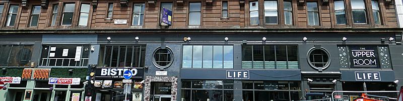 HOTEL Plan For Sauchiehall Street's LIFE Building