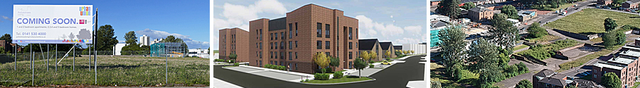 NEARLY 140 Houses And Flats Approved For Pollokshaws Site