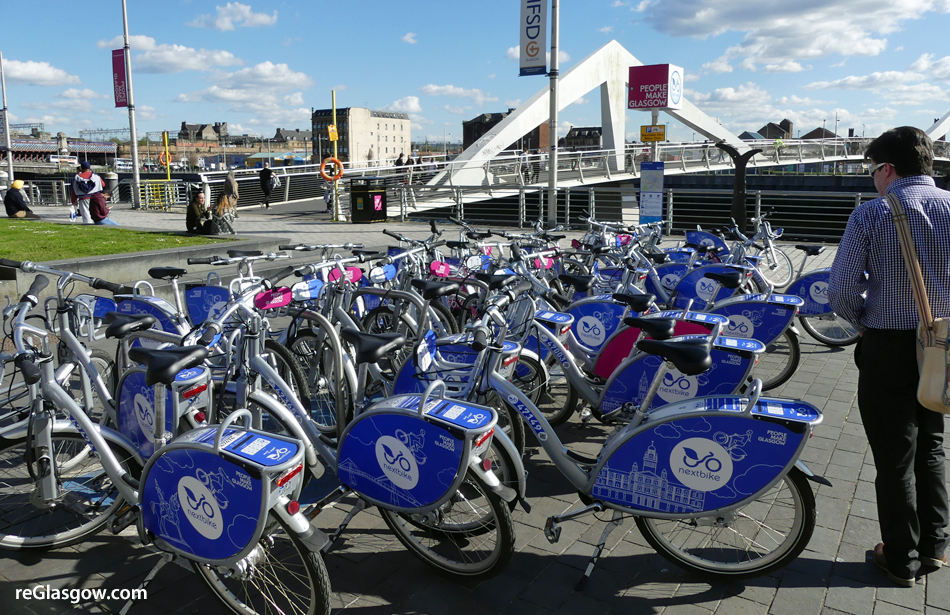 SUMMER Of Free Cycle Hire In Glasgow