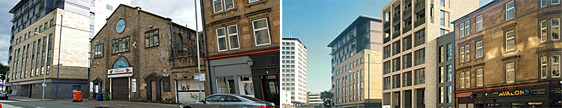 FLATS Bid At Former Restaurant/Church Gives Planners Food For Thought