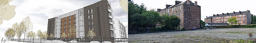 FLATS Development Proposed For Ex-Care Home Site Next To Glasgow Park