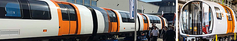 GLASGOW'S New Subway Trains On Show At Trade Fair