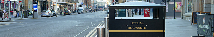 NEW Bigger Bins In Glasgow Will Help Environment And Save Cash