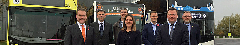 ALL Aboard For Partnership That Aims To Make Glasgow's Buses 'Just The Ticket'