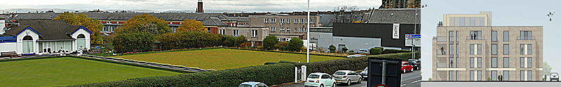 APARTMENT Block Plan For Disused Shawlands Bowling Green