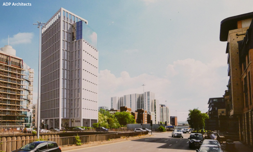 EMERGING Concept For High-Rise Build-To-Rent Block At