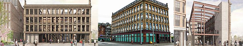 MAINTAINING A Facade Is Key To Success At Glasgow's Transformational Buchanan Wharf
