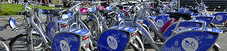 GLASGOW Pressing Ahead With Electric Bike Hire Fleet