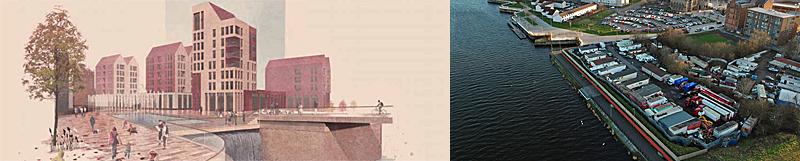 TOWER Block Landmark Is Part Of Govan Riverfront Masterplan