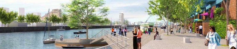 VISION For Broomielaw Includes Riverside Park