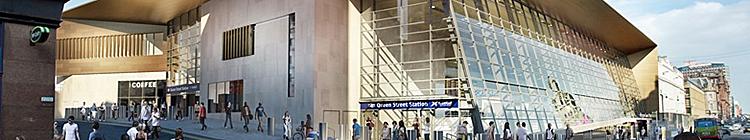 PLATFORM Extension Work On Track At Queen Street Station