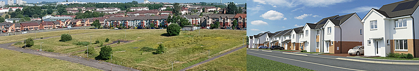 MORE Than 100 Homes Approved For East Glasgow Site