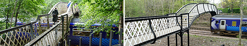 IN Pictures — Strathbungo Railway Footbridge Before And After £650,000 Makeover