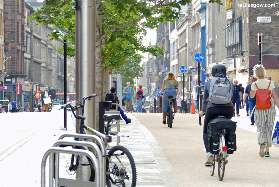 NATIONAL Award Shows Sauchiehall 'Avenue' Project Is Streets Ahead