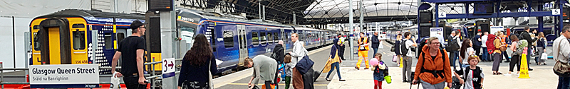 FINAL Phase Of Platform Extensions At Queen Street Station