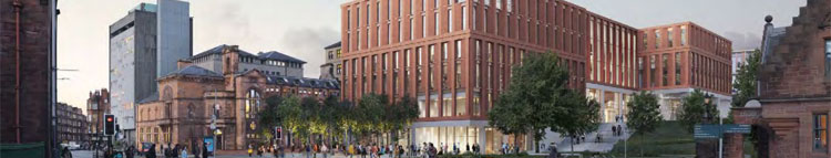 GLASGOW University Get Planning Approval For Business School