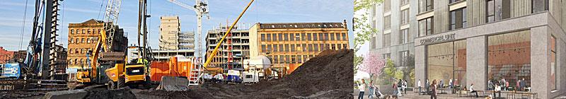 WORK Starts On 18-Storey Build-To-Rent Towers At Buchanan Wharf