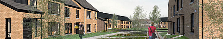 PERMISSION Sought For Barlanark Housing Development