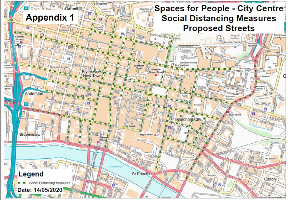 MILES Of City Centre Parking Lanes Set To Be Switched To Walking And Cycling Under Covid-19 Plan