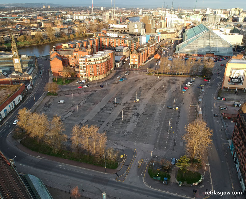 PLAN For Mixed-Use Transformation Of City Centre Outdoor Car Park