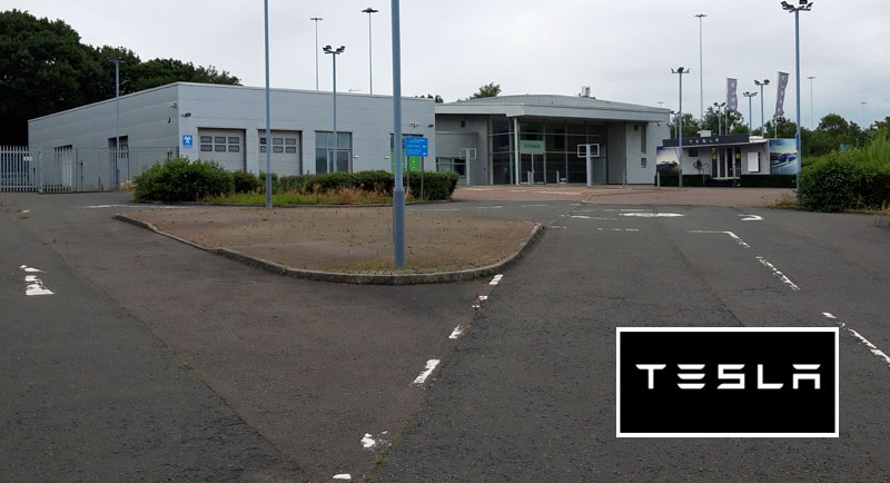TESLA Electric Vehicle Showroom To Open In Central Glasgow