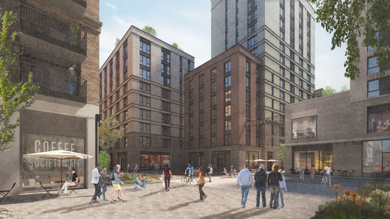 FUNDING Deal Agreed For £81.5Million 17-Storey Merchant City Apartment Complex
