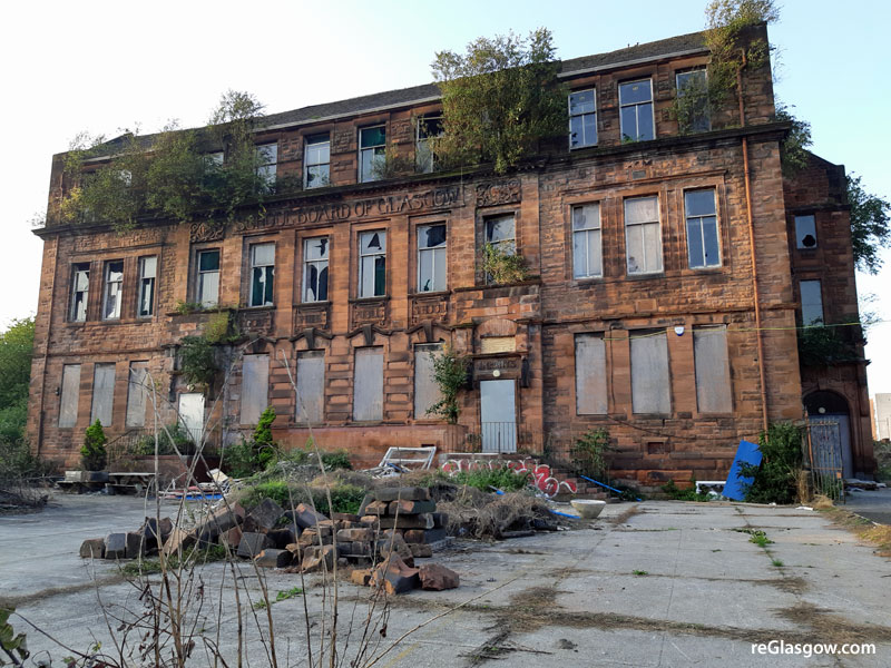 DEVELOPER Progressing Flats At  East End Listed School Site