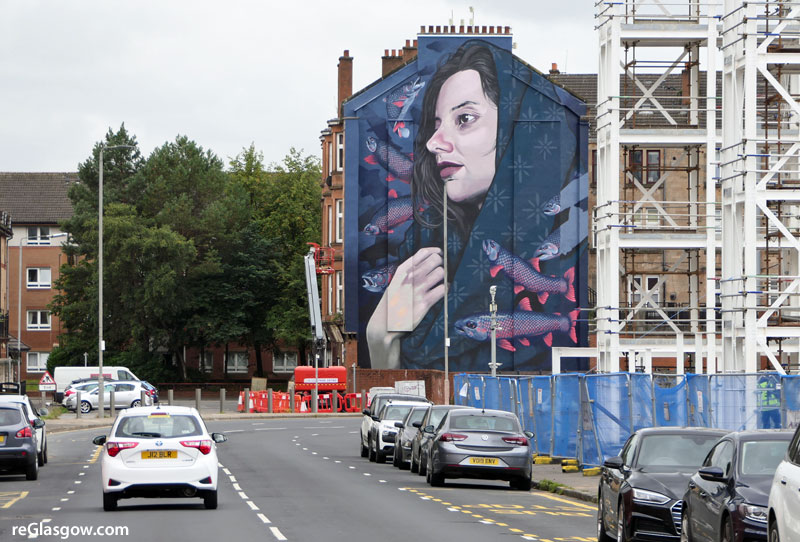 IN Pictures — East End Tenement Is Latest To Get Eye-Catching Mural