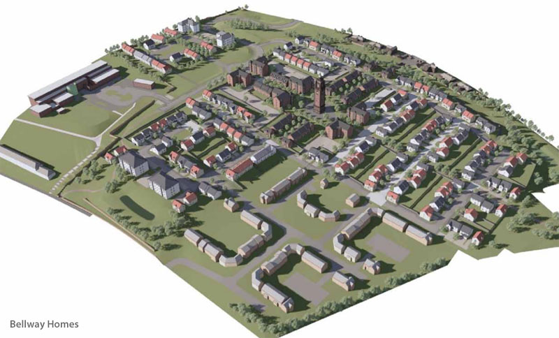 APPLICATION Submitted For Hundreds Of Homes At Former Hospital Site