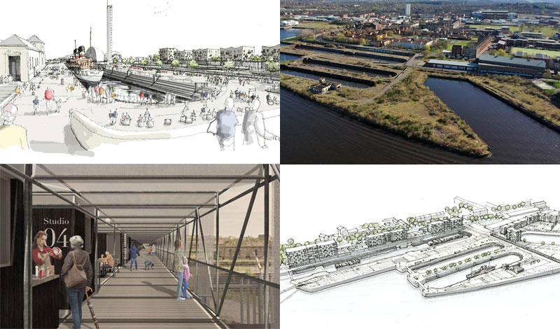 NEW Blueprint For Govan Graving Docks Combines Maritime Heritage, Culture And Housing